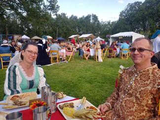 Feast attendees