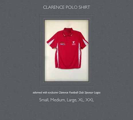 Clarence Football Club Polo Shirt