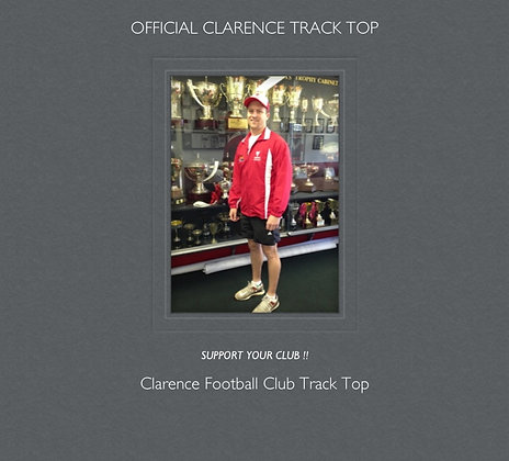 Clarence Football Club Track Top