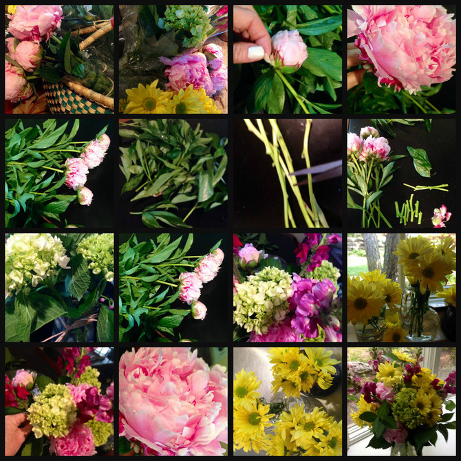How To Arrange {Grocery Store} Flowers