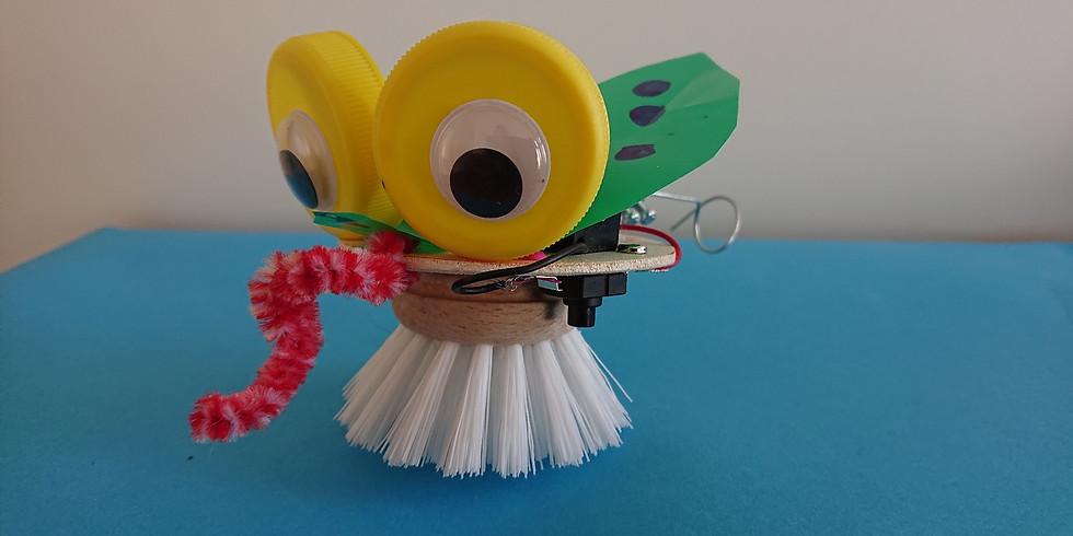 Vakantiepasworkshop: Bibberbeestjes maken (woe 21 juli 2021)