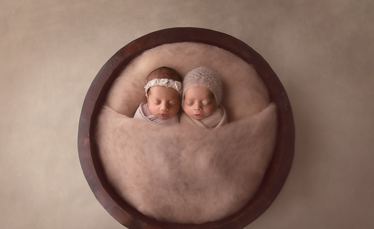 Hills District Twin Newborn Photographer