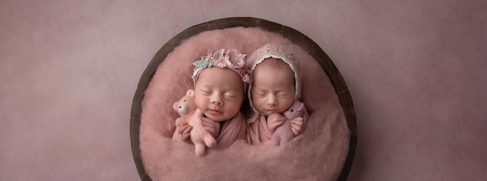 Sydney newborn twin photography