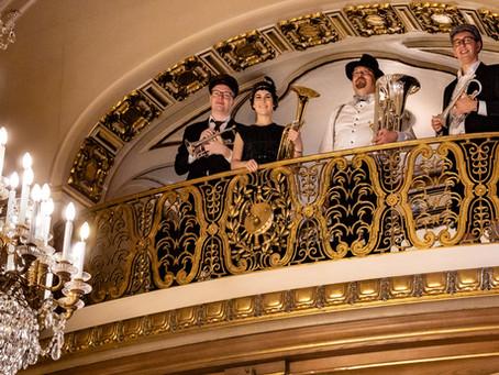 Musik aus den 20er Jahren im Schloss Waldenburg