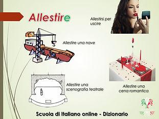 ALLESTIRE