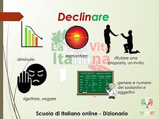 DECLINARE
