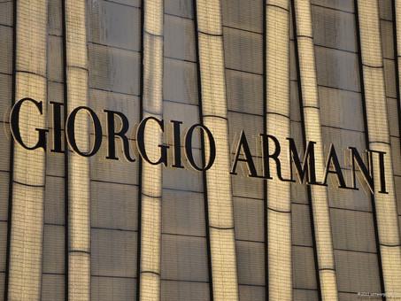 Tecnologia ed alta moda - Giorgio Armani è già online