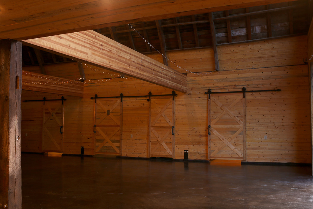 Main Event Space at Red Barn Events Center