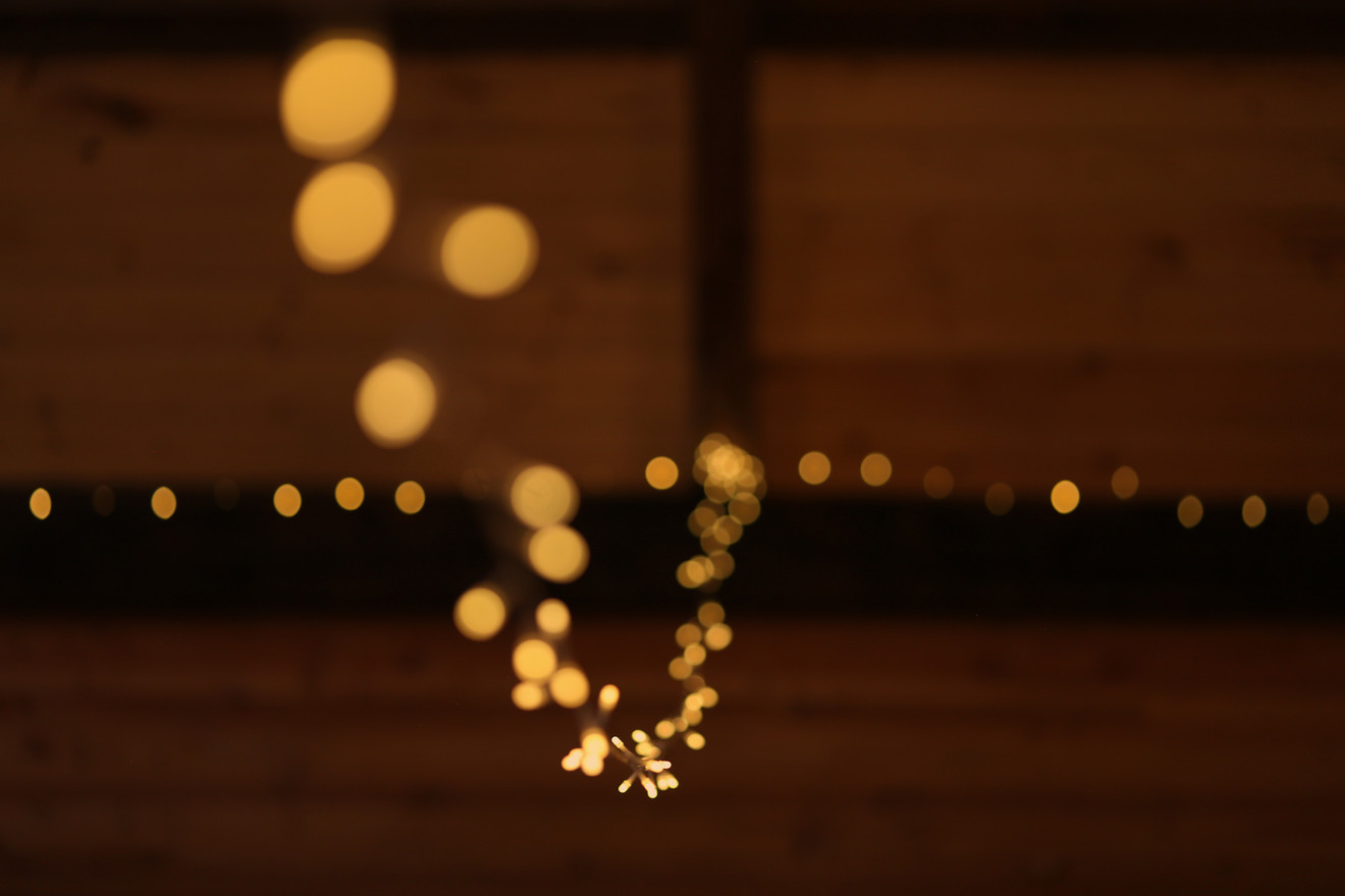 Fairy Lights at Red Barn Events Center