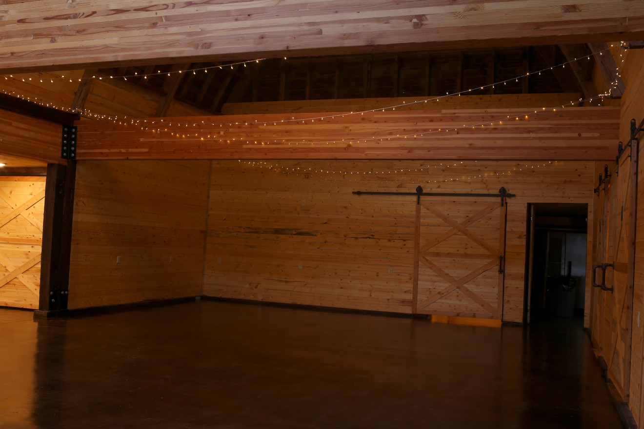 Main Events Space at Red Barn Events Center