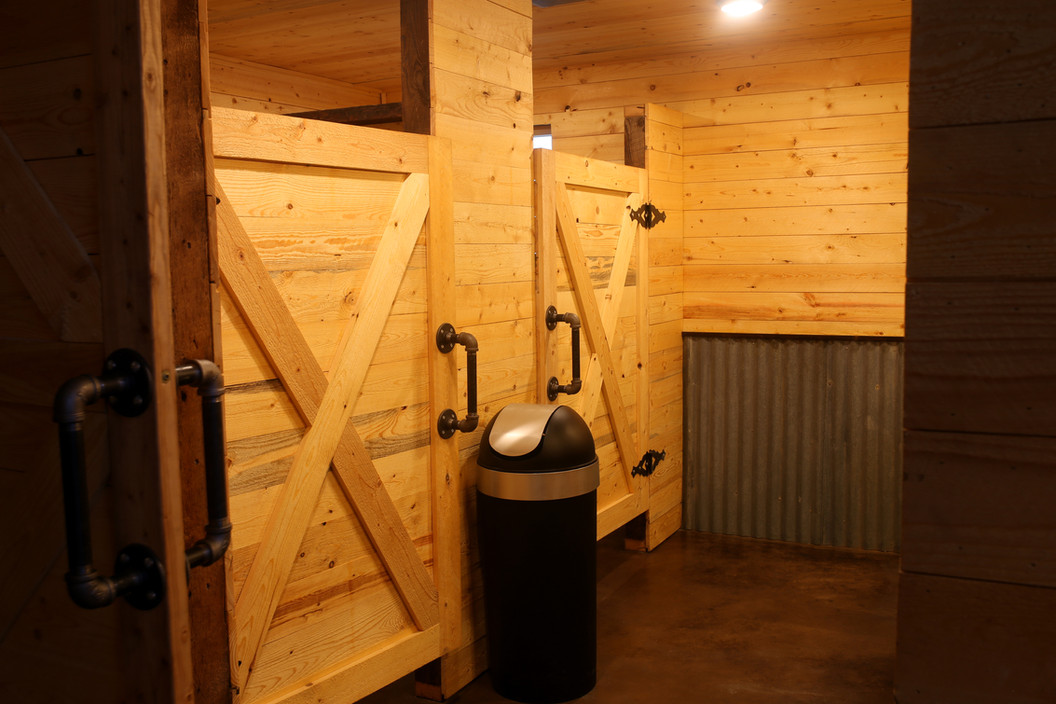 Womens Restroom at Red Barn Events