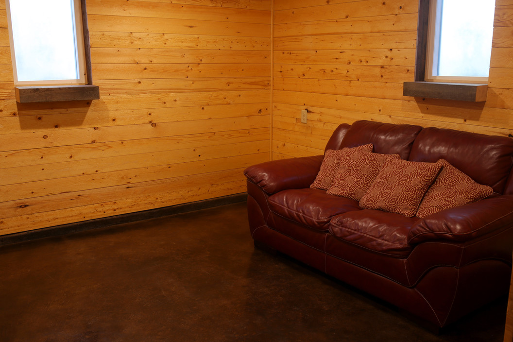 Private Grooms Room at Red Barn Events Center