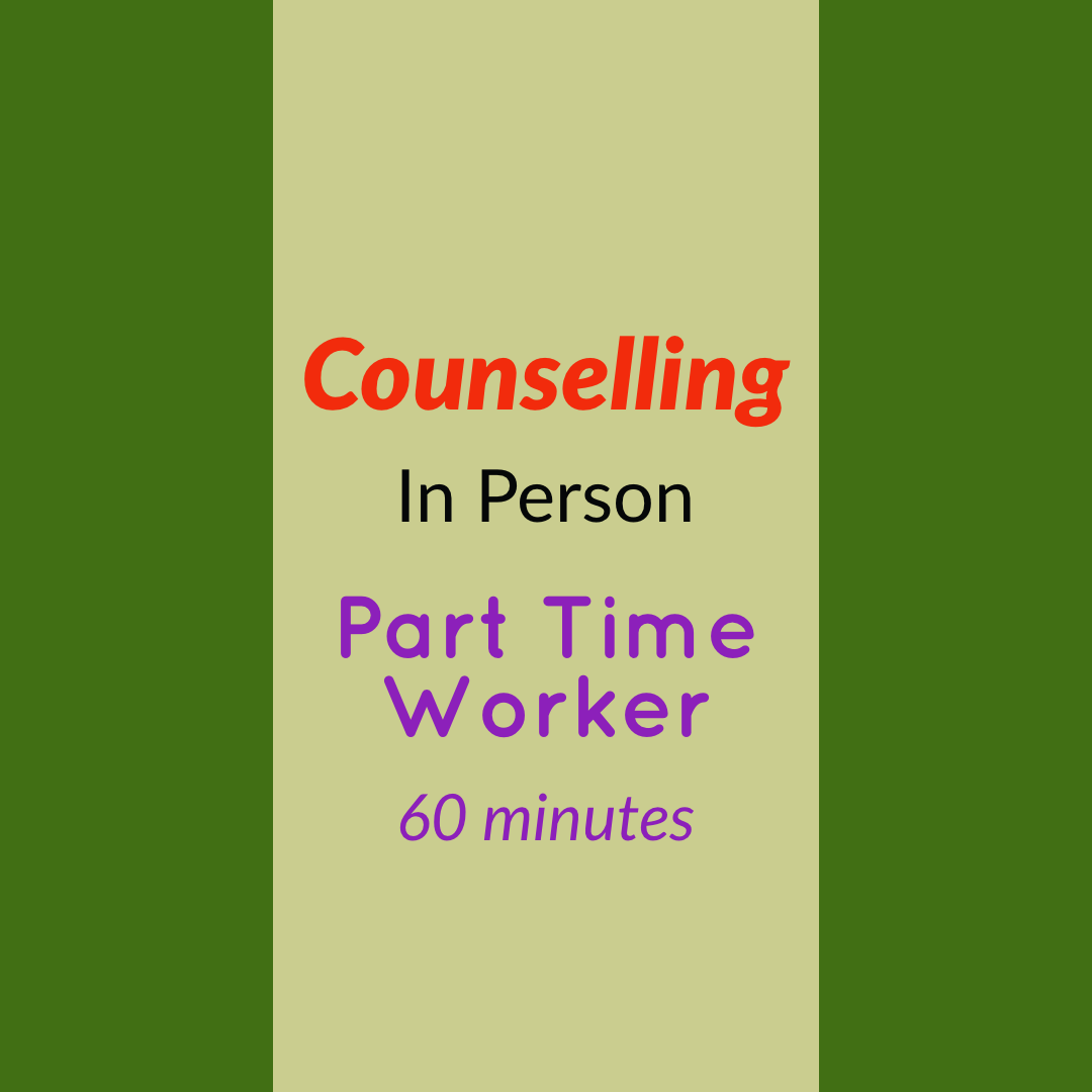 Counselling  - Part Time Worker