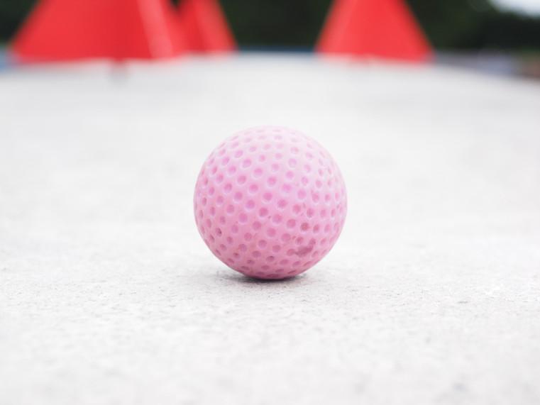 Mini-golf pour les enfants