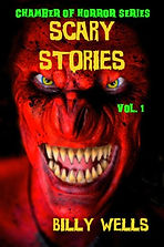 Billy Wells, Short Horrors, Scary Stories, Scare Factory, Horror Books, Horror Novels, Horror Guide, Halloween Books, Halloween Novels, Hallowen guide, Scary Books, Scary Novels