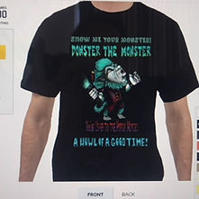 Donster T shirt A Howl of a good time fr