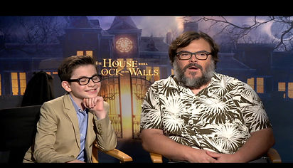 Jack Black Interview for The House With a Clock in the Walls