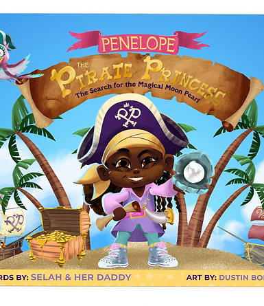 Penelope the Pirate Princess: The Search for the Magical Moon Pearl (softcover)