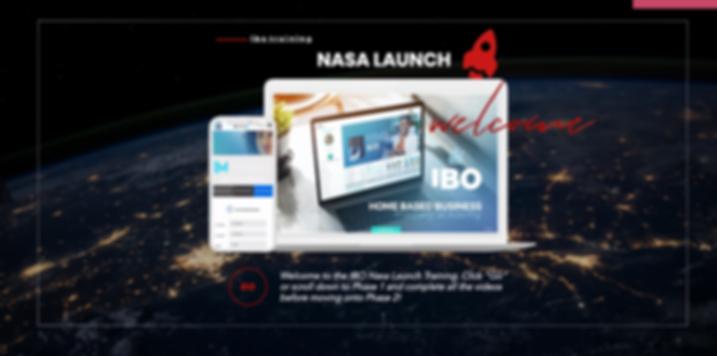 IBO ACADEMY NASA LAUNCH CHAIRMAN TRAININ
