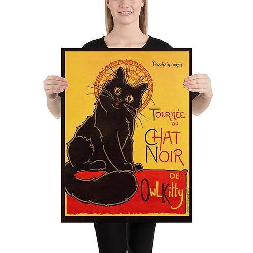 Le Chat Noir Poster Print