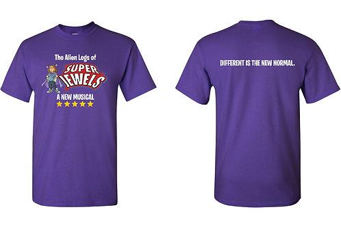 Super Jewels Musical T-shirt (S,M,L,XL,XXL,XXXL)