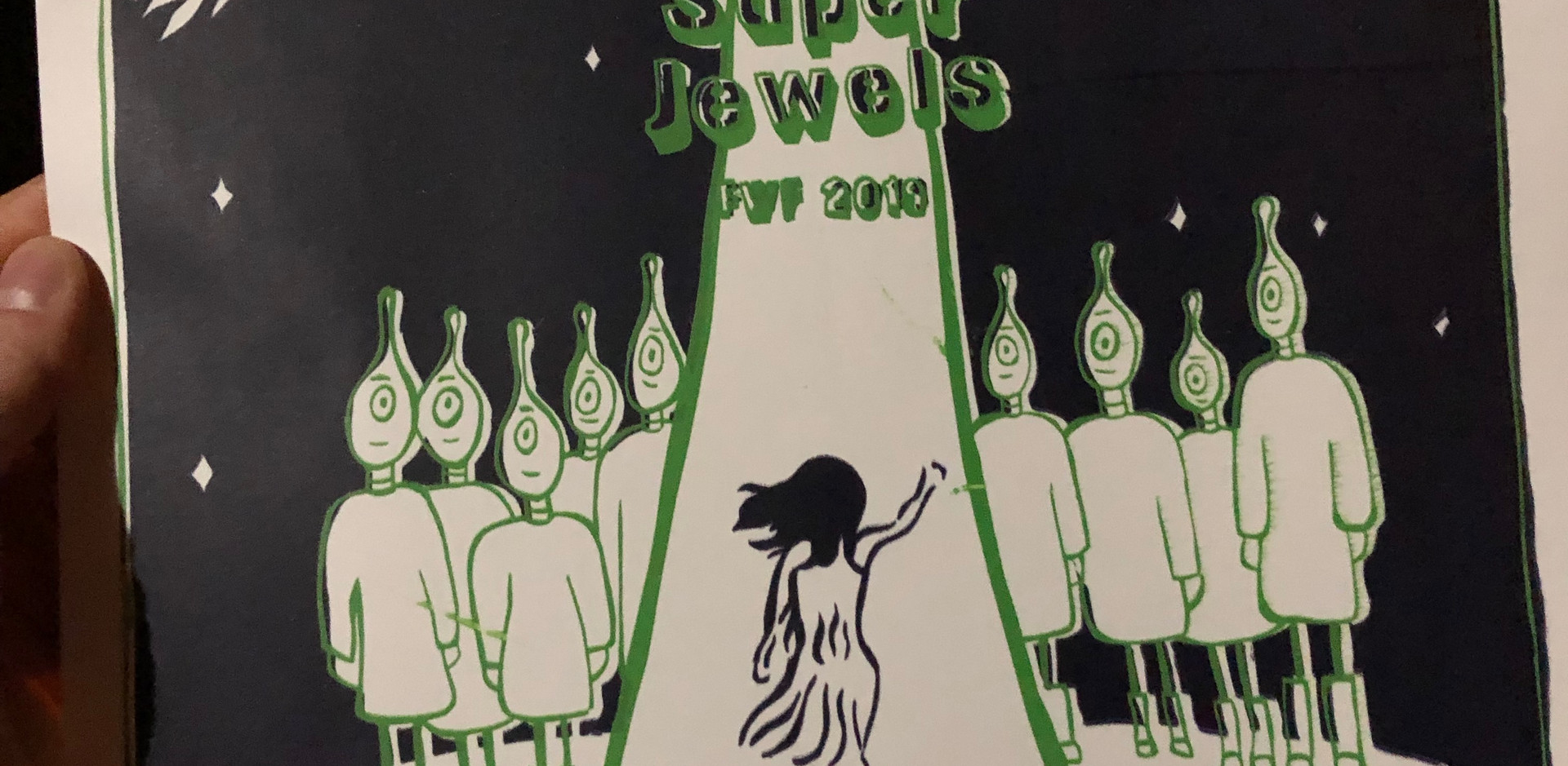 Cool screen print created by a camper inspired by the show!