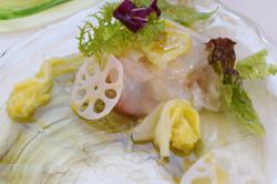 白菜、蓮根
