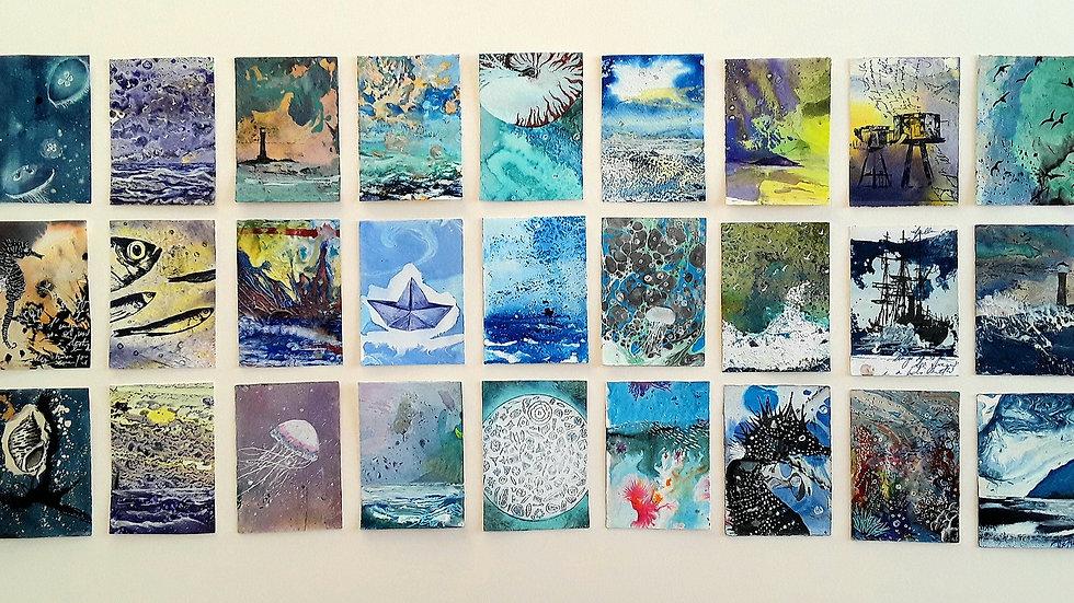 27 series - Sea dreamings