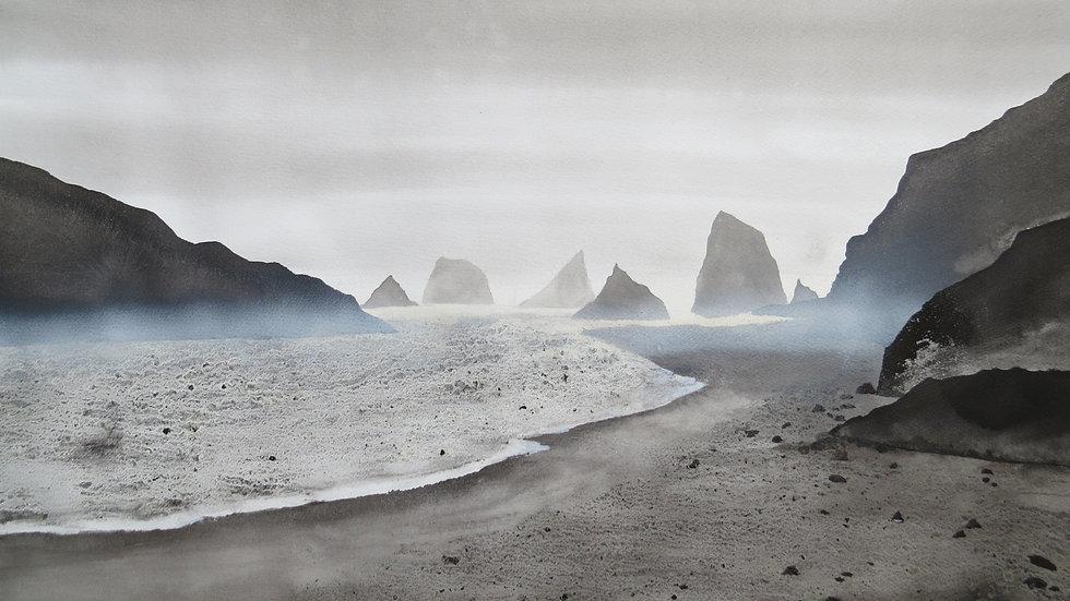 Whispering sand