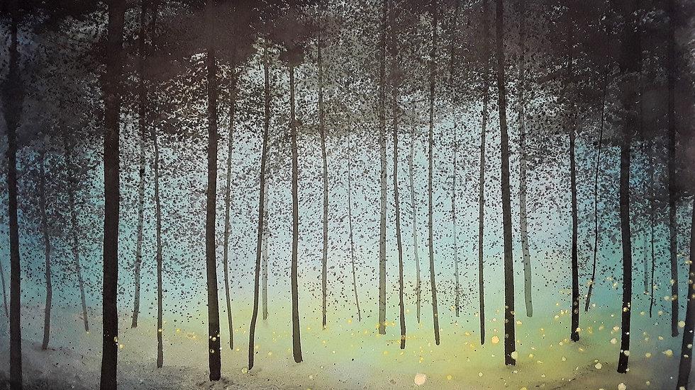 Fireflies twilight