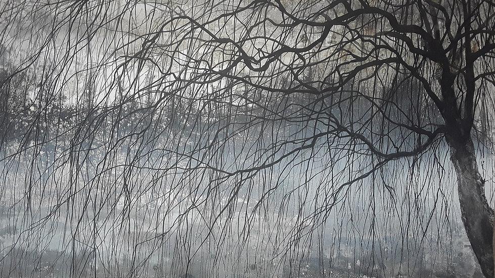 Winter willow mist