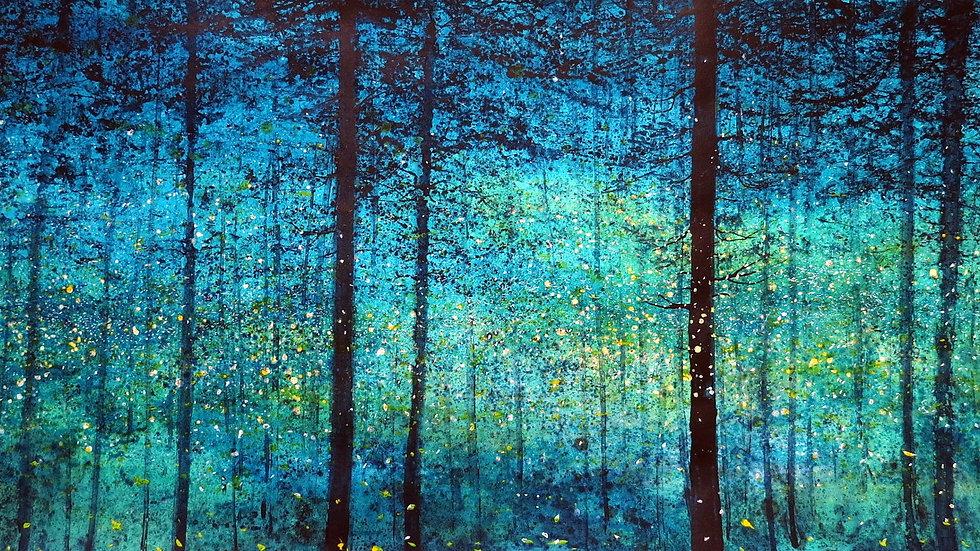 Fireflies midsummer