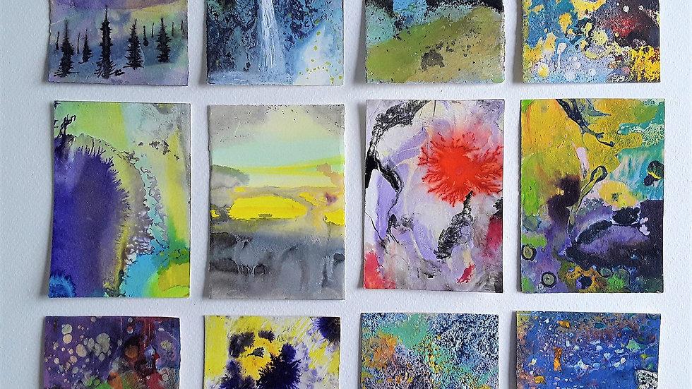 12 series 'Waterfall sunset'