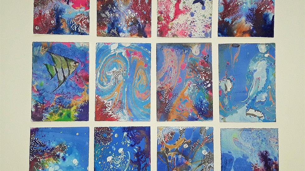 12 series 'Corals and Mermaids'