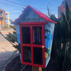 Free Street Library on Bay with Anita Layzell & Bayside Mens Shed