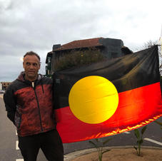 Welcome to Country, Smoking Ceremony & Flag Unfurling - Steve Parker