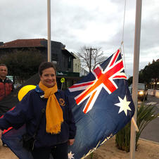 Welcome to Country, Smoking Ceremony & Flag Unfurling - Lee Murray