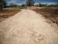 In-situ, haul road, Holford Gas Storage Project