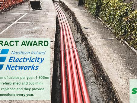 SMRUK is the Soil Stabiliser supplier for northern Ireland Electricity Networks.