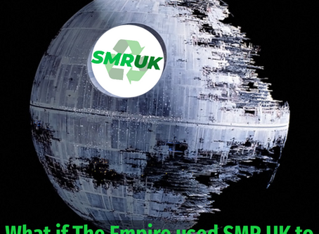 What if The Empire used SMR UK to build the Death Star?
