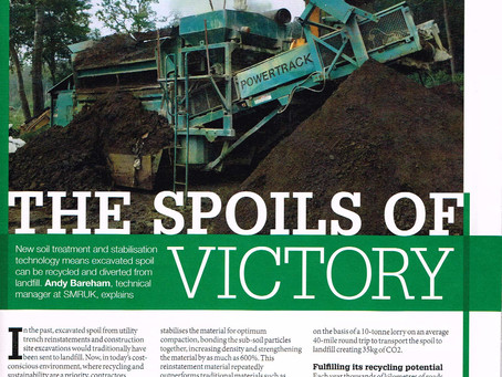 A look back at our feature in Recycling & Waste World