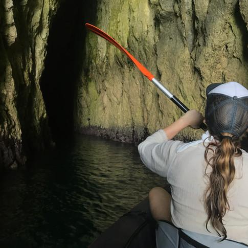 grotte lungomare di Siracusa