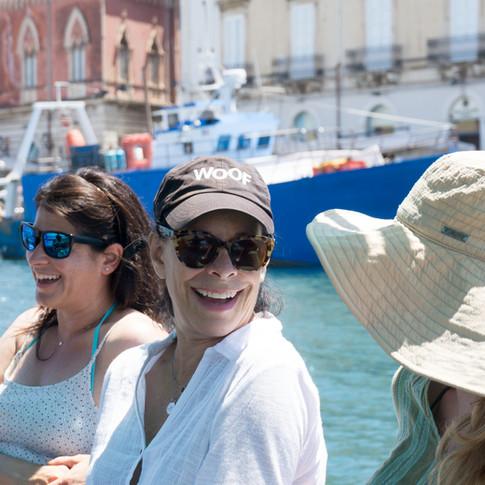 Gita in barca perimetro di Ortigia