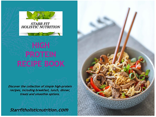 High Protein Recipes Book