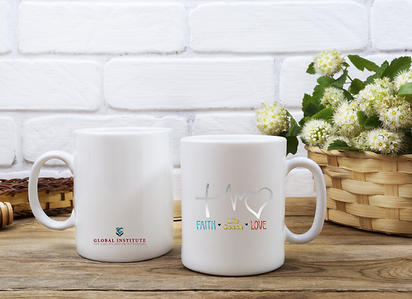 Faith. Life Coach. Love  Mug