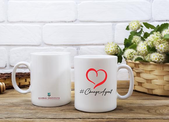 Change Agent with Heart Mug