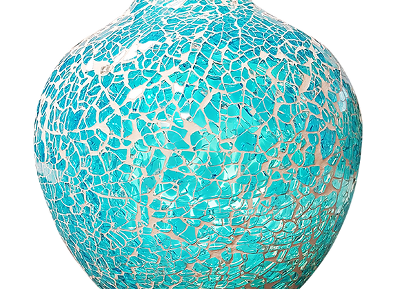 Crackle Glass Ocean Essential Oil Diffuser