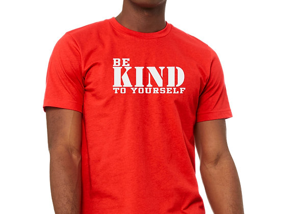 Be Kind  Tee- Poppy