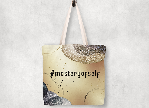 Mastery of Self Shopping Tote