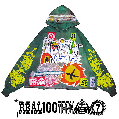 ✇ 652 / GREEN RAIN / MEDIUM-LARGE